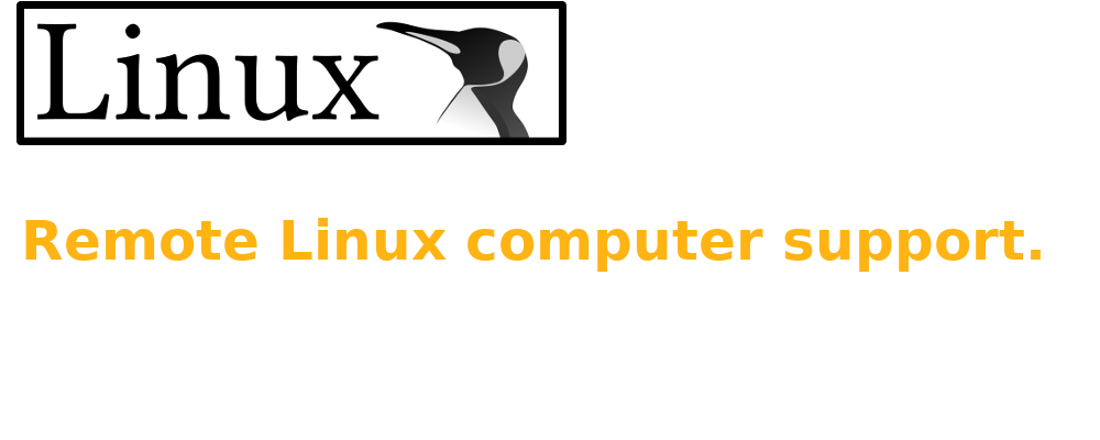 We help you using GNU/Linux
