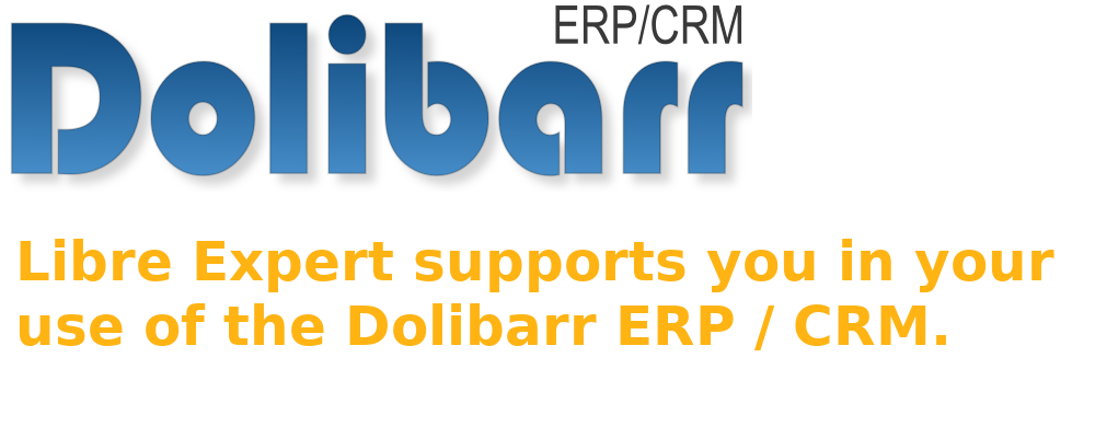 Manage your business with Dolibarr